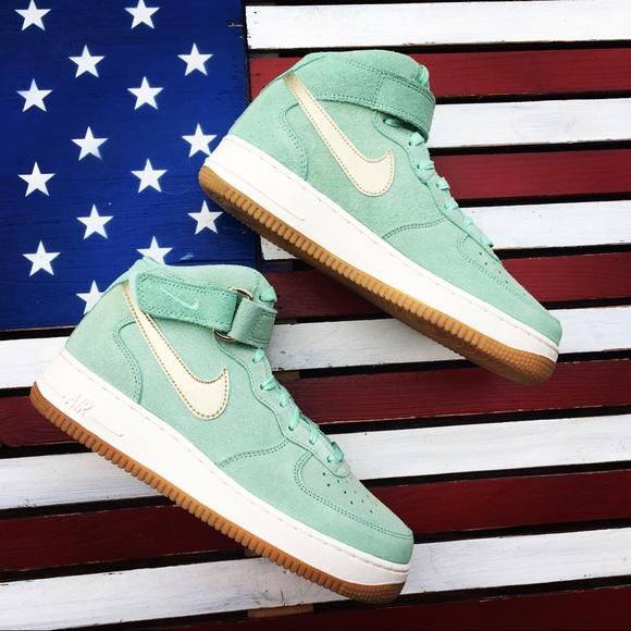 Nike Air Force 1 Mid Green GD Sz 9 Shoe-818596-300.  M 59f951ffbf6df53d140406dc 580ecd177