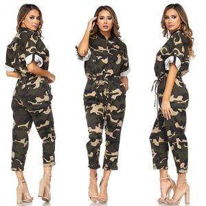 Pants - Camouflage Boilersuit
