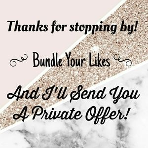 Private Offers!!