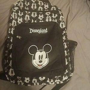 Mickey mouse disneyland resort backpack