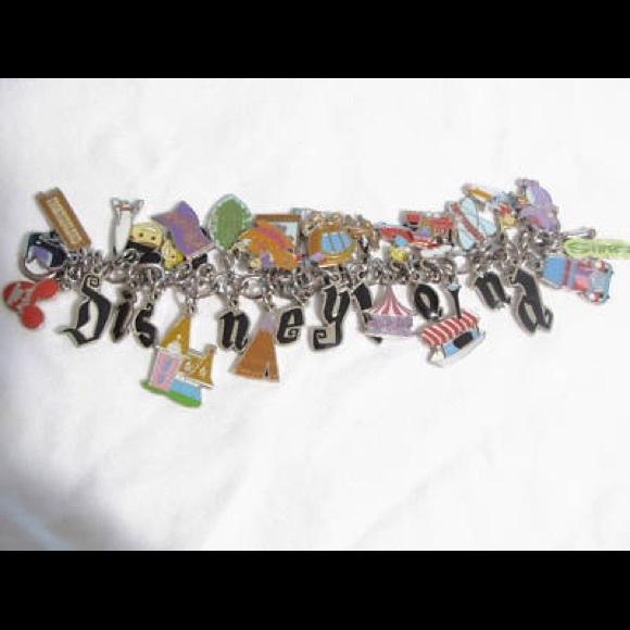 964246734 Disneyland Jewelry | 50th Anniversary Shag Charm Bracelet | Poshmark