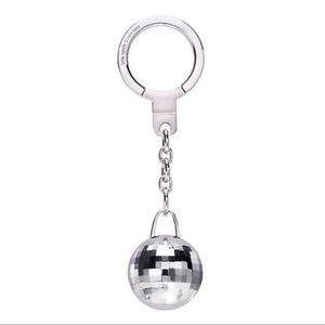 NEW Kate Spade Disco Ball Key Chain