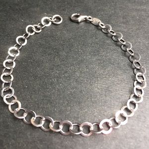 Jewelry - 925 Sterling Silver Rings For Charms Link Bracelet