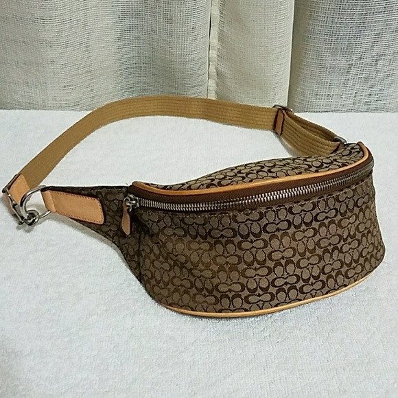 804714e31cf authentic Coach Fanny Pack belt bag
