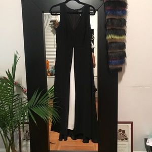 Adrianna Papell Pants - Black and white jumpsuit