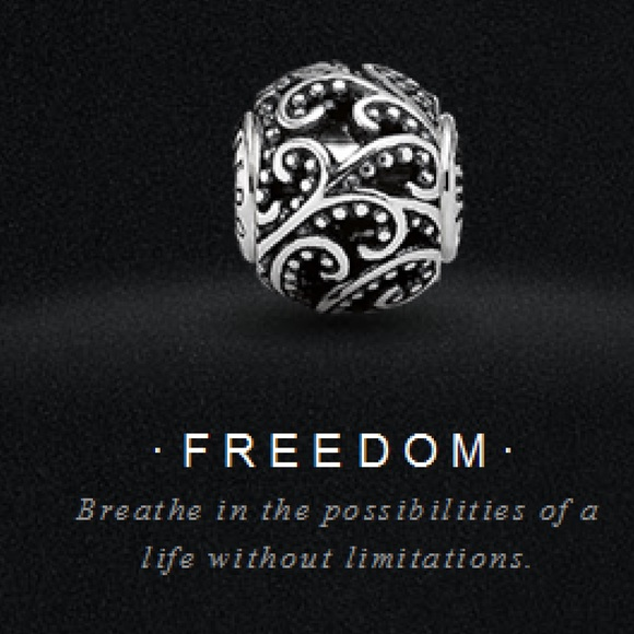 pandora freedom charm