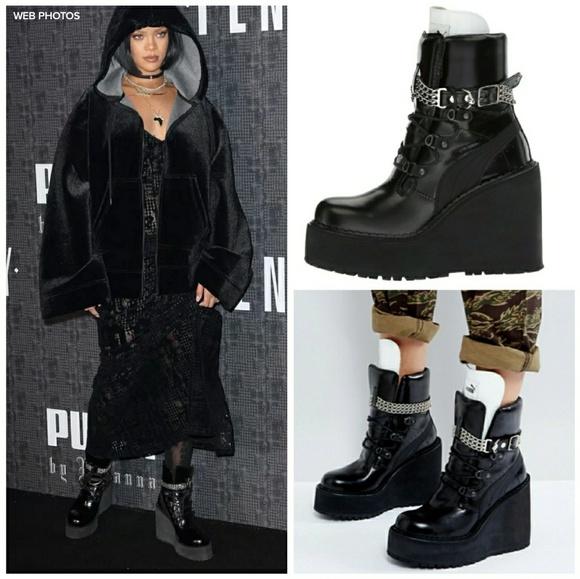 PUMA Fenty x Rihanna Sneaker Boot Wedge See Sizing.  M 59f96dc84127d0566c043a87 faf8dfed8