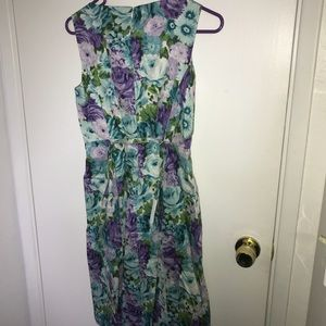 Beautiful floral dress sz 2p by Talbots petites