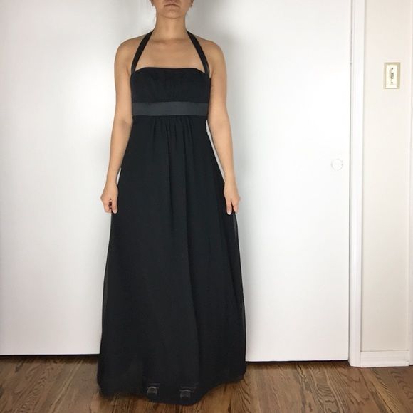 Alfred Angelo Dresses & Skirts - NEEDS REPAIRS - Alfred Angelo Black Evening Gown