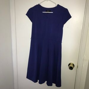 Beautiful blue dress sz 2p by Spence petite