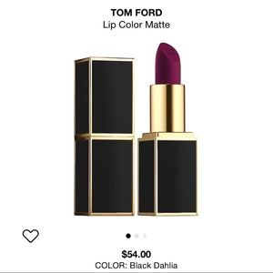 Authentic Tom Ford black dahlia matt lipstick