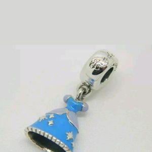 Jewelry - Pandora Disney Cinderella Dress Dangle Charm