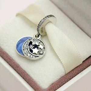 Jewelry - Pandora Night Sky Vintage Dangle Charm