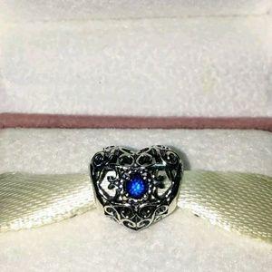 Jewelry - Pandora December Signature Heart Charm