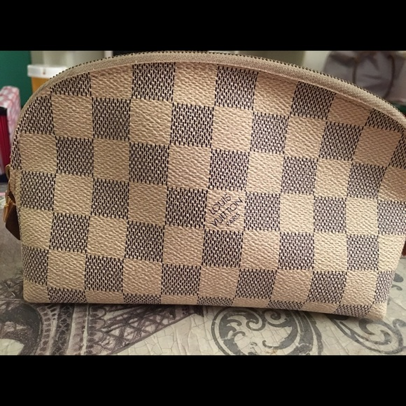 c2303079aa4f Louis Vuitton Handbags - Louis Vuitton Damier Azur cosmetic pouch