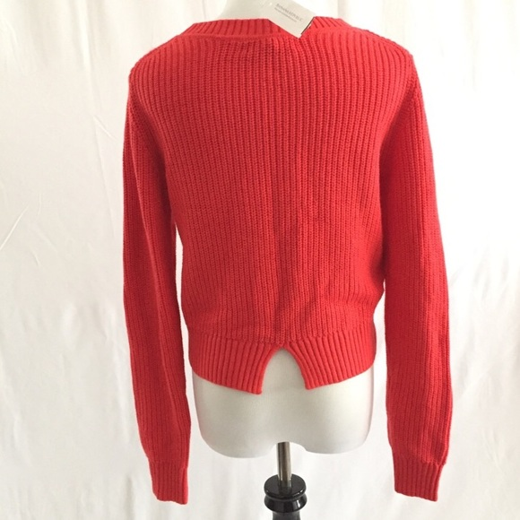Banana Republic - NWT Banana Republic Tomato Red Sweater Sz S from ...