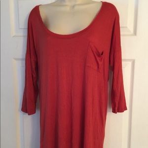 We the Free Tunic Tee Sz Small