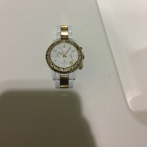 7ae010033f8e Michael Kors MK6119 Parker Pave watch AS IS. M 59f9c909c28456eec504cc92