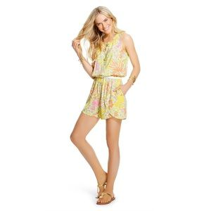 Lilly Pulitzer For Target Romper Challis Size S