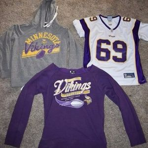 Tops - Minnesota Vikings Items