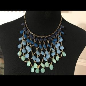 NWT brand new beaded bib necklace