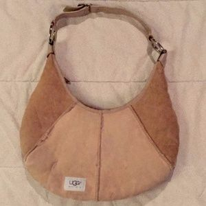 UGG Crescent Style Shearling Bag - Small