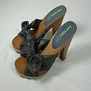 Kensie girl jett sandle heels sz 8B