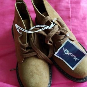 Suede kids boots