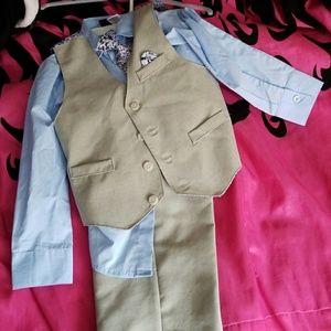 Kids dress suit