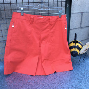 Lily's of Beverly Hills Red Golf Skort Size 8