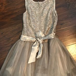 Biscotti Dresses - Girls Biscotti Holiday Dress Champagne Color