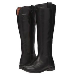 Frye Paige Tall Riding Boots in Black