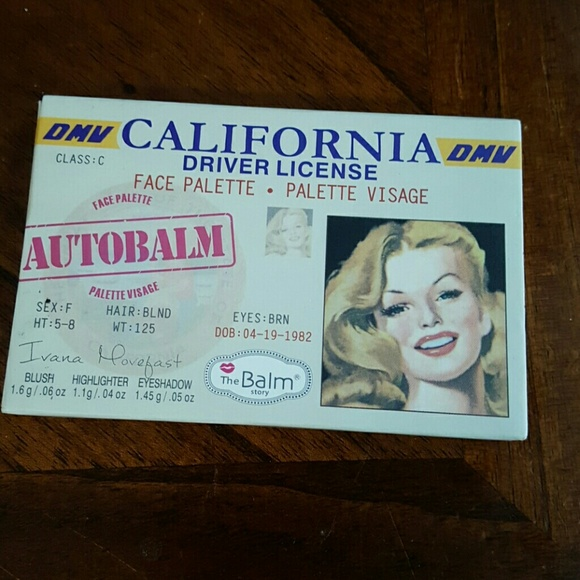 Drivers license and woman nude