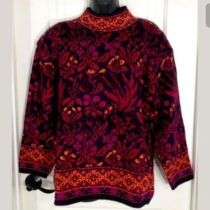 Vintage 80s Carducci Sweater Womens MED