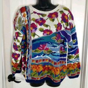 Jennifer Reed Vintage Sweater PETITE MED
