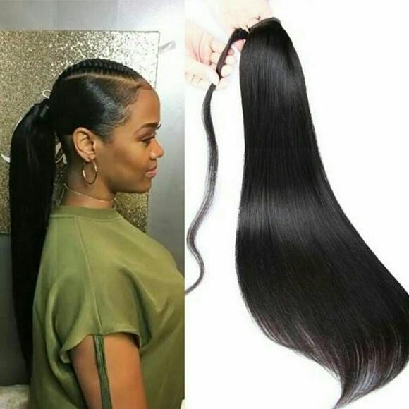 Dark Brown Curly Ponytail Hair Extension Poshmark
