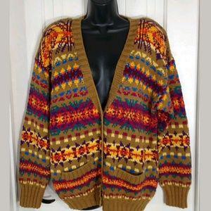 Roo Crossing Sweater Womens Vintage 80s