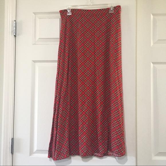 Vintage Dresses & Skirts - Large Tacky Christmas Skirt