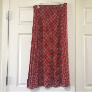 Large Tacky Christmas Skirt