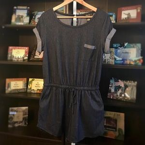 Pants - ✔️NWT Soft Denim Romper