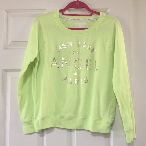 Victoria's Secret Tops - Bright Victoria's Secret Sweatshirt