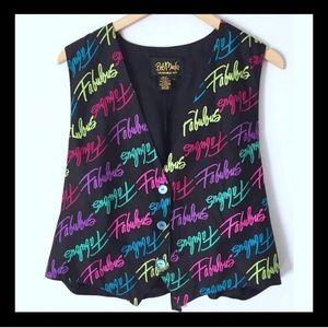 Fabulous! Vintage Bob Mackie 1980's Vest!!