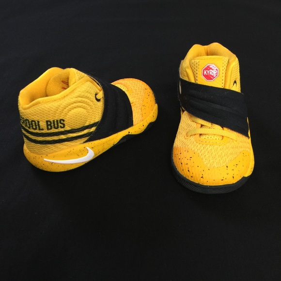 5300beaa47f7 Nike Kyrie 2 School Bus Yellow Black Toddler 5C. M 59f9f799522b4569ec055a8c