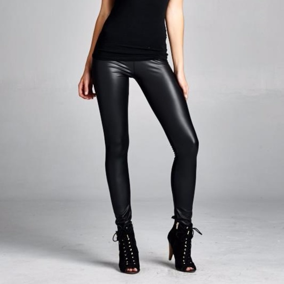 c14407aff8bce5 Fierce Broad Pants | Pre Black Friday Sale Faux Leather Leggings ...