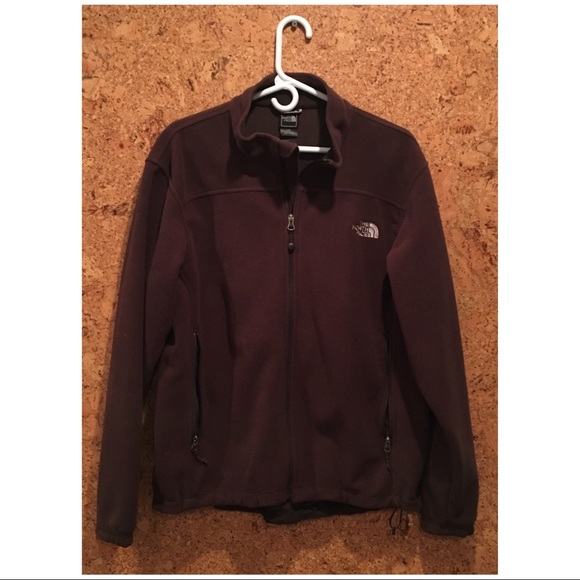 8bc7e4b82 The North Face Chocolate Brown Fleece Jacket