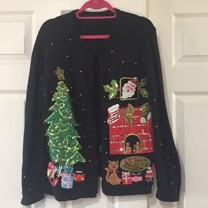 Chimney Tacky Christmas Sweater