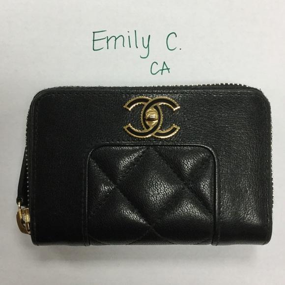 58c57a8fe00d CHANEL Handbags - Chanel Mademoiselle Zippy wallet