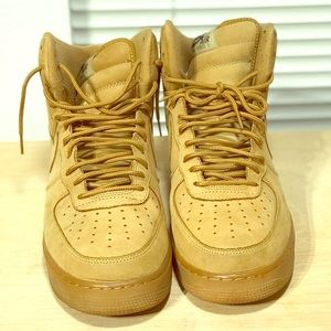 a2ef5b0844fe Women s Nike Air Force 1 Flax on Poshmark