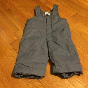 The Children's Place Gray Ski Snow Pants Brand New