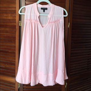 Plus size tank blouse